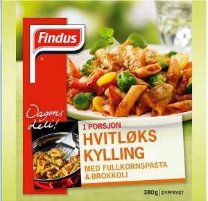 Prøv også Findus HvitløksKylling.