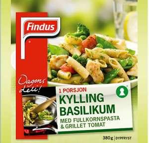 Prøv også Findus Kylling Basilikum.