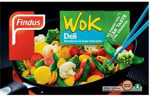 Prøv også Findus Wok Deli.