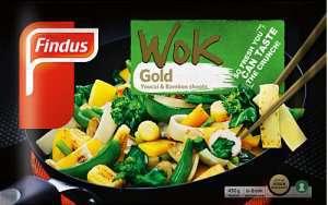 Prøv også Findus Wok Gold.