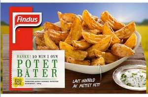 Prøv også Findus Potet Båter.