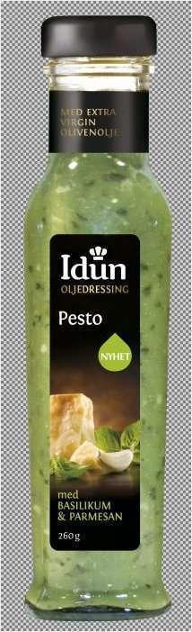Prøv også Idun oljedressing pesto.