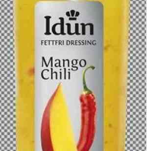 Prøv også Idun mango chili dressing.