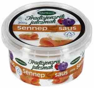 Prøv også Salatmesteren sennepssaus.