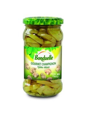 Les mer om Bonduelle Gourmet Champignon � Tykke skiver hos oss.