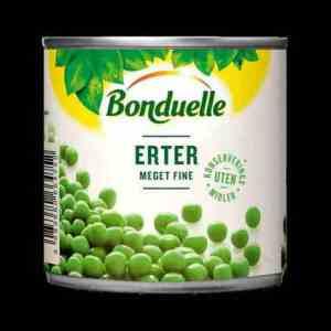 Prøv også Bonduelle Meget fine Erter.