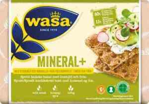 Prøv også Wasa mineral pluss.