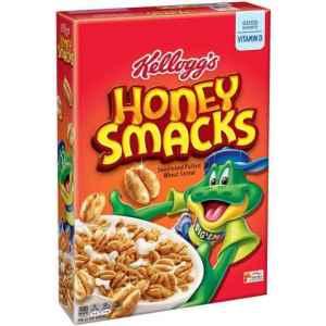 Prøv også Kelloggs honni korn smacks.