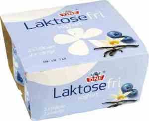Prøv også Tine laktosefri yoghurt blåbær.
