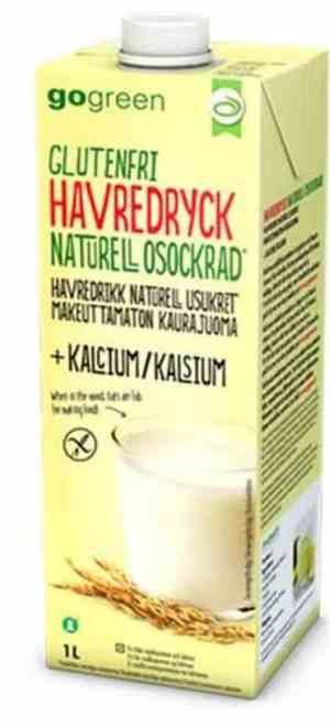 Prøv også GoGreen Havredrikk Naturell + Kalsium.