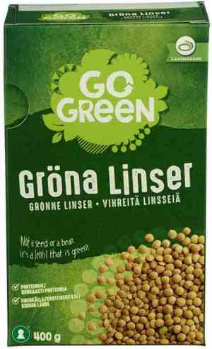 Prøv også Gogreen grønne linser.
