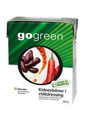 Prøv også GoGreen Kidneybønner i chilidressing.