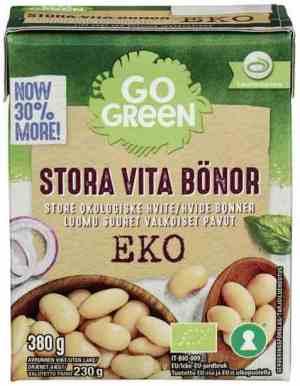 Prøv også Gogreen økologiske store hvite bønner.