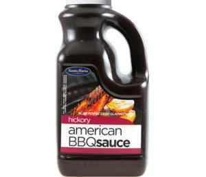 Prøv også Santa Maria American BBQ Sauce Hickory.
