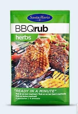 Prøv også Santa Maria BBQ Rub Herbs.