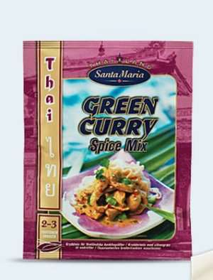 Prøv også Santa Maria Green Curry Spice Mix.