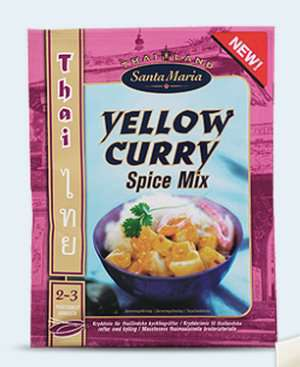 Prøv også Santa Maria Yellow Curry Spice Mix.