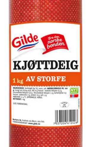 Les mer om Gilde kj�ttdeig storpakning hos oss.