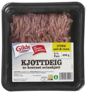 Prøv også Gilde go og mager kjøttdeig av svin.