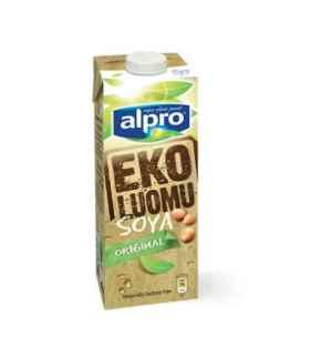 Prøv også Alpro Soya Naturell økologisk.