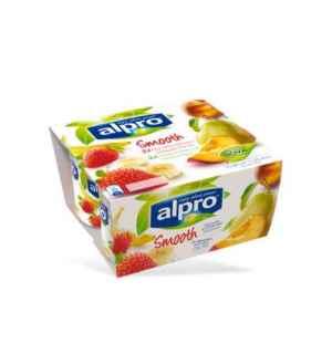 Prøv også Alpro Jordbær med Banan og Fersken med Pære.