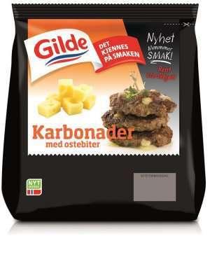 Prøv også Gilde karbonader med ostebiter.