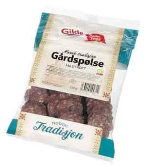 Prøv også Gilde gårdspølse.