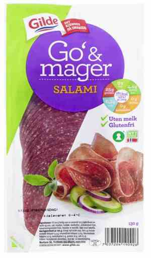 Prøv også Gilde Go og Mager salami.