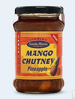 Prøv også Santa Maria Mango Chutney Pineapple.