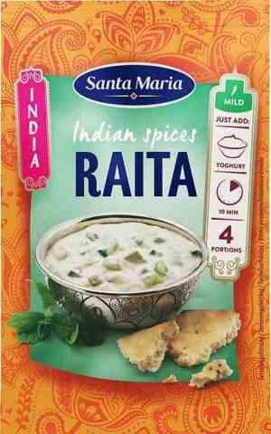 Les mer om Santa Maria Raita Spice Mix hos oss.
