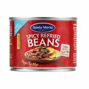 Prøv også Santa maria Refried Beans.
