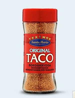Prøv også Santa maria Taco Bordkrydder.