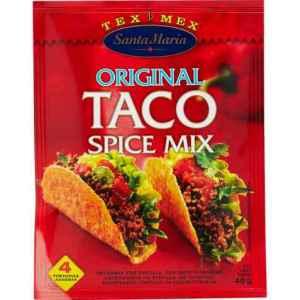 Les mer om Santa Maria Taco Spice Mix hos oss.