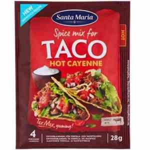 Prøv også Santa Maria Taco Spice Mix hot cayenne.