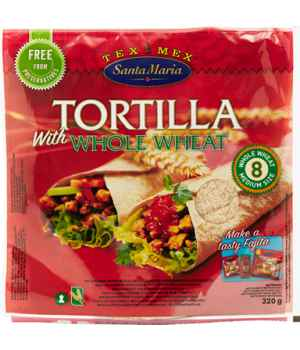 Prøv også Santa maria Whole Wheat Tortilla.