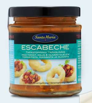 Prøv også Santa Maria Escabeche.