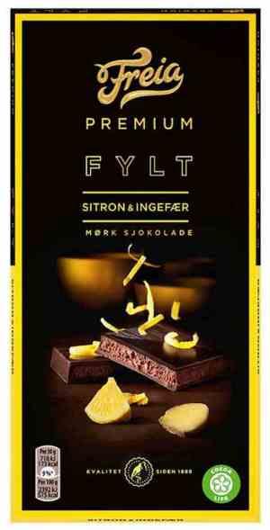Prøv også Freia Premium Sitron & Ingefær.