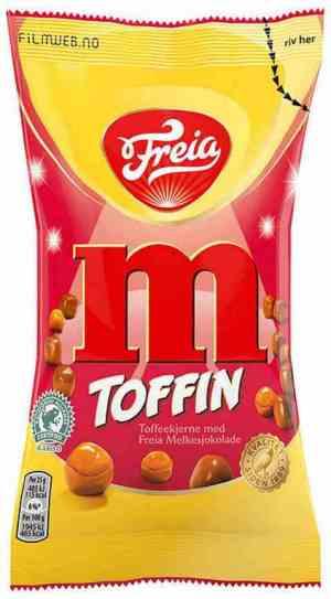 Prøv også Freia Toffin.