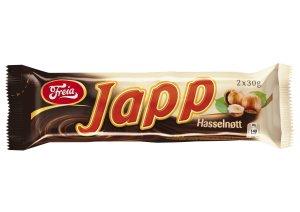 Prøv også Freia Japp Hasselnøtt.