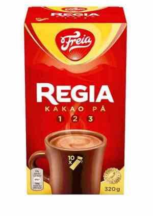 Prøv også Freia regia sjokoladedrikk.
