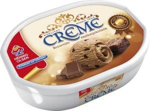 Prøv også Hennig Olsen Crème Brownies melkesjokolade.