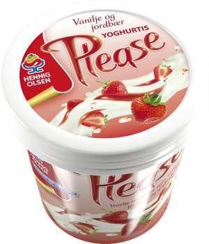 Prøv også Hennig Olsen please vanilje jordbær.