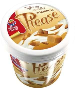 Prøv også Hennig Olsen please toffee karamell.