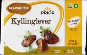 Prøv også Prior kyllinglever.