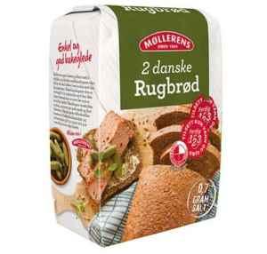 Prøv også Møllerens ekte dansk rugbrød.