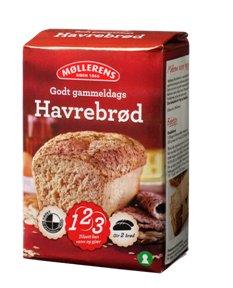 Prøv også Møllerens Godt gammeldags Havrebrød.