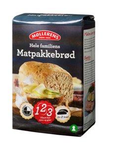 Prøv også Møllerens Hele Familiens Matpakkebrød.