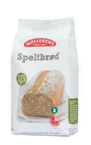 Prøv også Møllerens Saftig speltbrød.