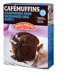 Les mer om M�llerens cafe muffins hos oss.