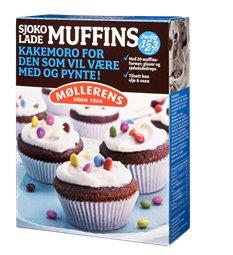 Les mer om M�llerens sjokolade muffins hos oss.